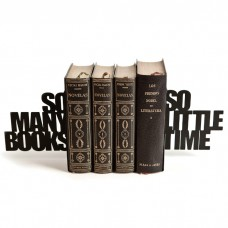 זוג תומכי ספרים So Many Books. So Little Time