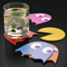 מארז תחתיות כוסות Pac-Man