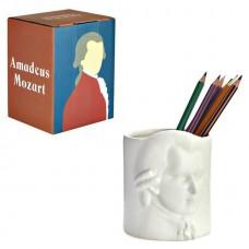כוס עטים פורצלן וולפגנג אמדאוס מוצרט