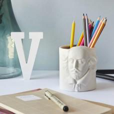 כוס עטים פורצלן ויליאם שייקספיר