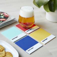 מארז תחתיות כוסות צבעי פנטון Pantone Coasters