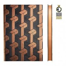 מחברת A5 מהודרת Art Deco Weave