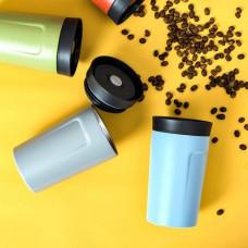כוס תרמית עם שתייה ב-360 מעלות בתוספת קפה פילטר דריפ Drip 2 Go